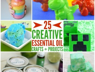 25 Crafts and Projects Using Essential Oils