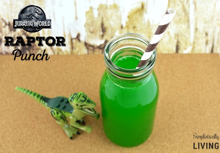 Jurassic World Inspired Raptor Punch Featured