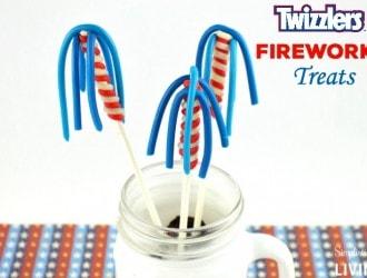 Twizzlers Fireworks Treats