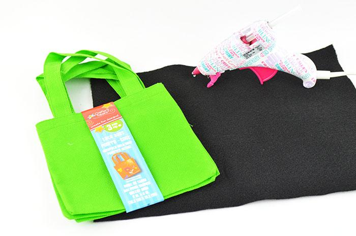 minecraft creeper treat bag supplies