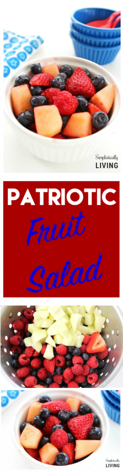 patriotic fruit salad pinterest