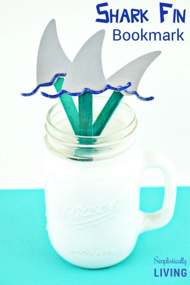 shark fin bookmark