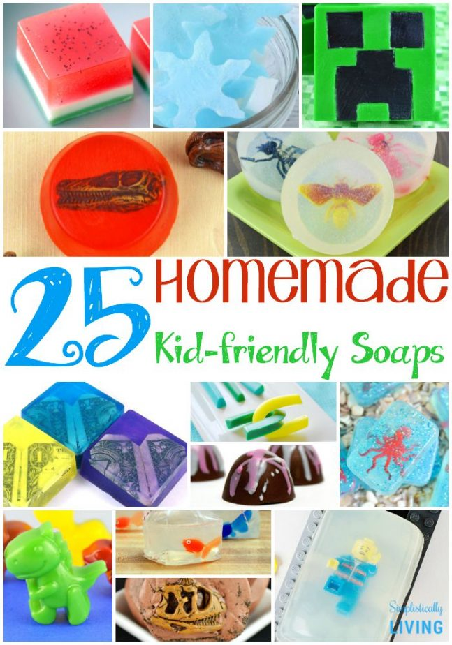 25 Homemade Kid-Friendly Soaps