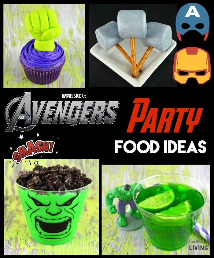 Superhero Birthday Cake Supplies