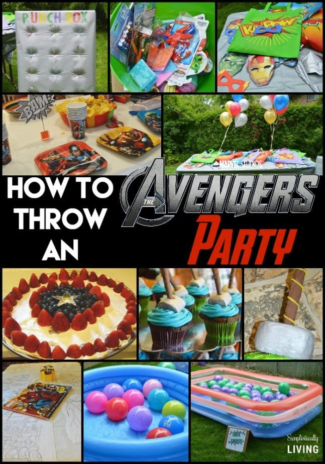How to Throw An Avengers Party