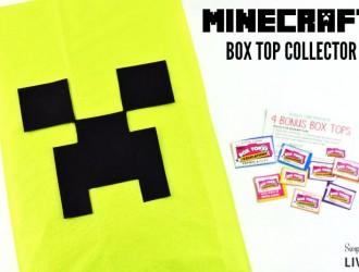 Make Your Own Minecraft Box Top Collector