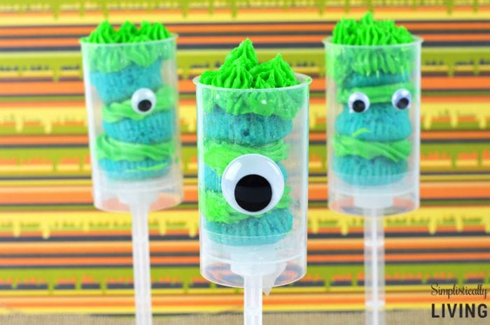 Monster Cake Pops Simplistically Living