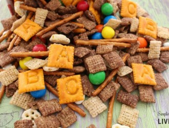 No-Nut Back to School Trail Mix