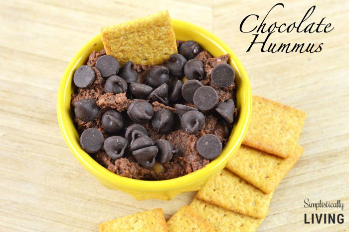 chocolate hummus featured