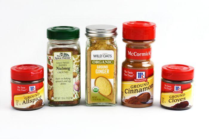 homemade pumpkin spice ingredients