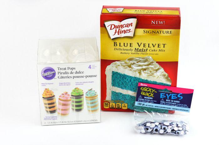 monster cake pops supplies