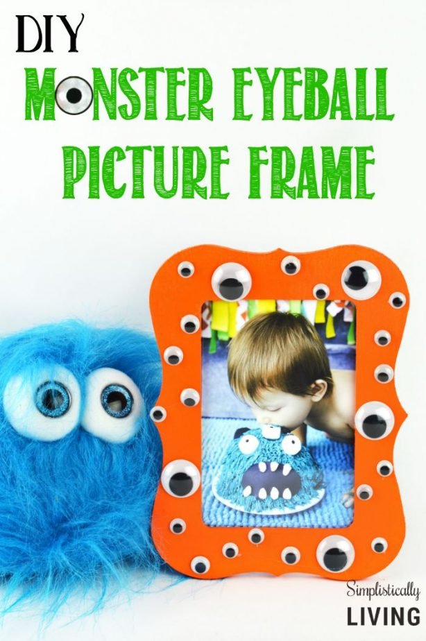 monster eyeball picture frame