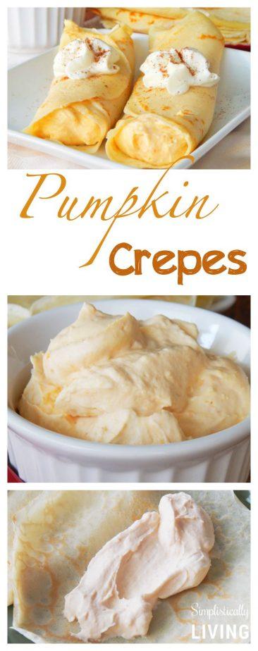 pumpkin crepes pinterest