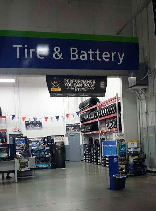 sam's club tire and battery