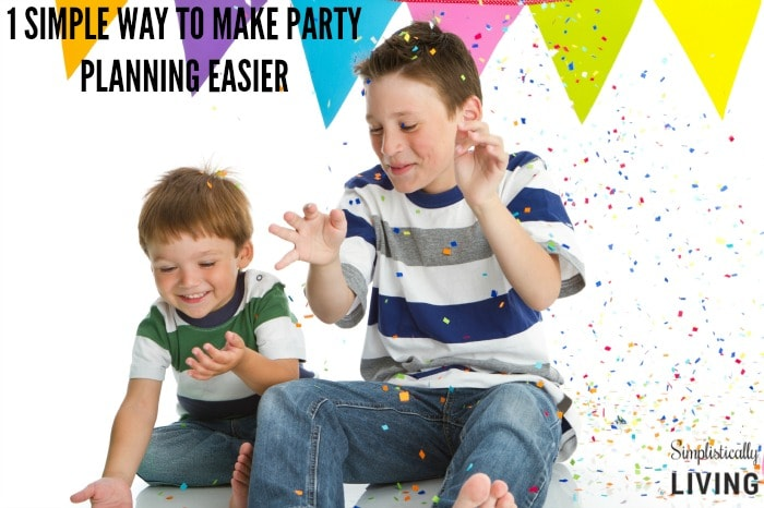 1 simple way to make party planning easier featured