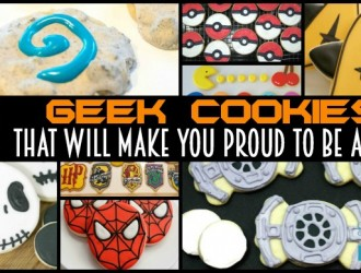 25 Geek Cookies That Will Make You Proud to Be A Geek