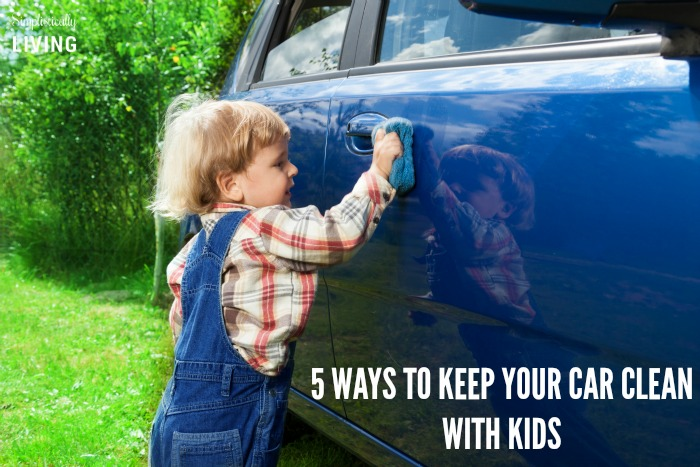 5 WAYS to keep your car clean with kids featured