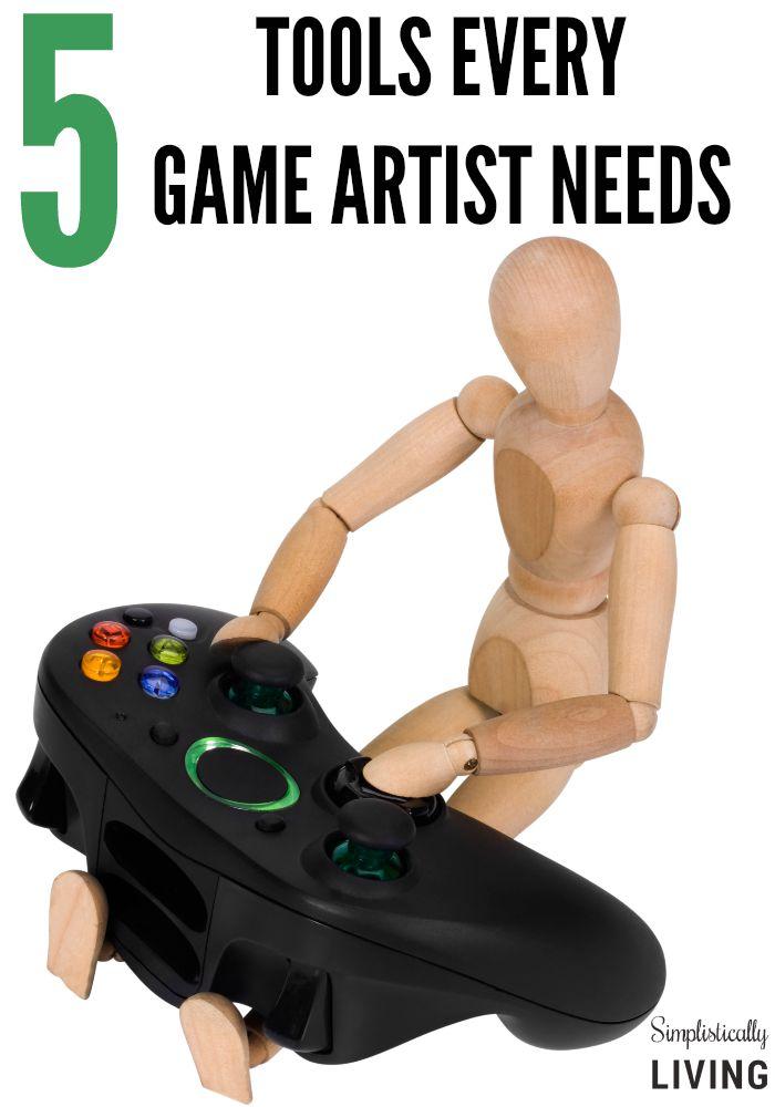 5 tools every game artist needs