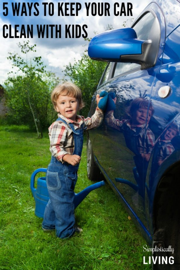 5 ways to keep your car clean with kids