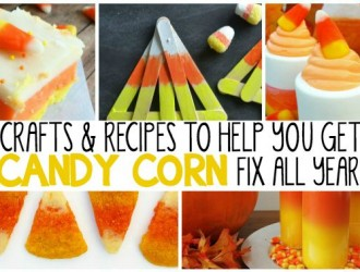 25 Ways to Get Your Candy Corn Fix All Year Long!
