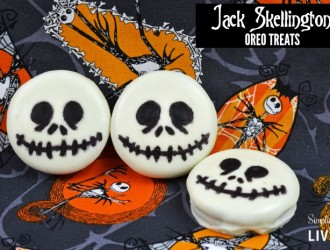Jack Skellington Oreo Treats