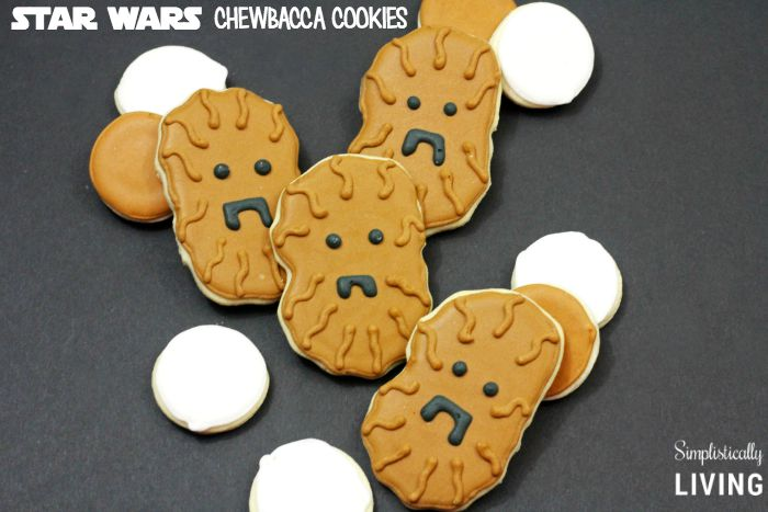 STAR WARS chewbacca cookies featured