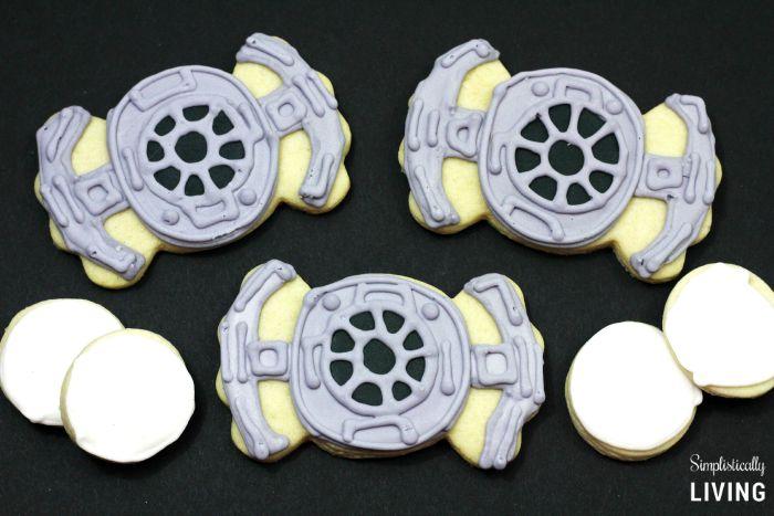 TIE Fighter Cookies Featured