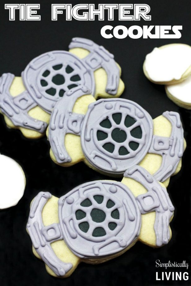 TIE Fighter Cookies