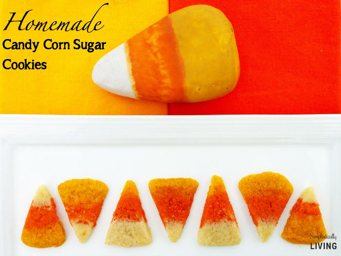 candy corn sugar cookies featured