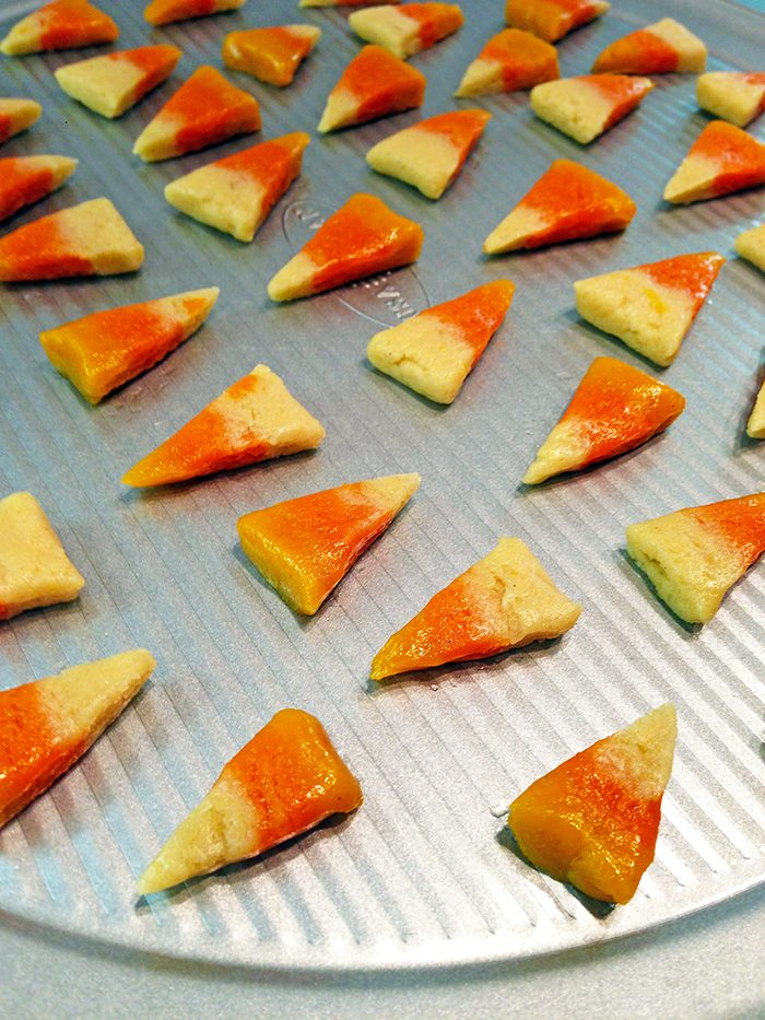 candy corn sugar cookies inprocess4