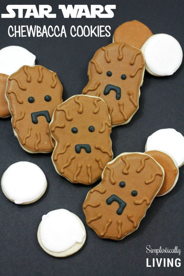 star wars chewbacca cookies