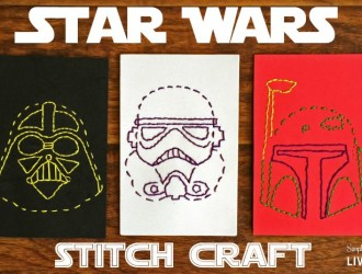 Star Wars Stitch Craft + Free Printables