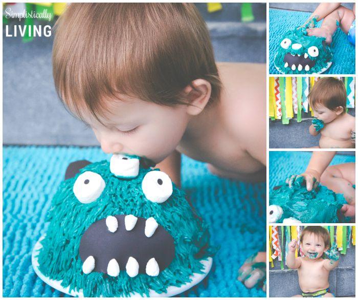 tarek's cake smash with CheapShots! Photography