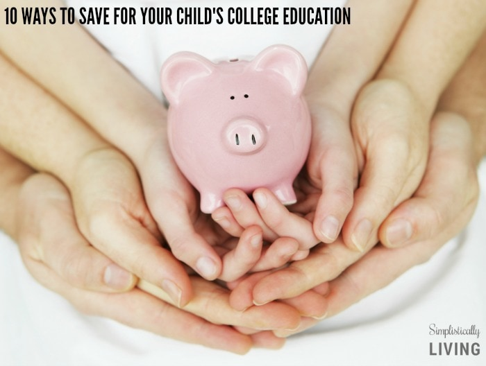 10 Ways to Save For Your Child's College Education FEATURED