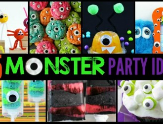 25 Monster Party Ideas