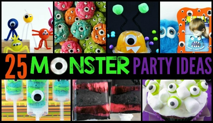 25 monster party ideas featured