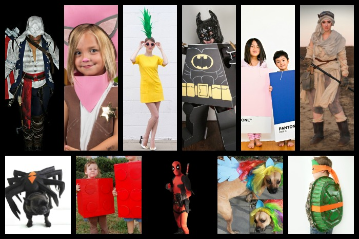31 DIY Halloween Costumes 1