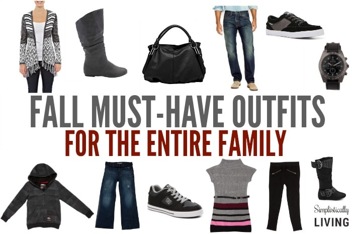 FALL MUST HAVE OUTFITS FOR THE ENTIRE FAMILY FEATURE