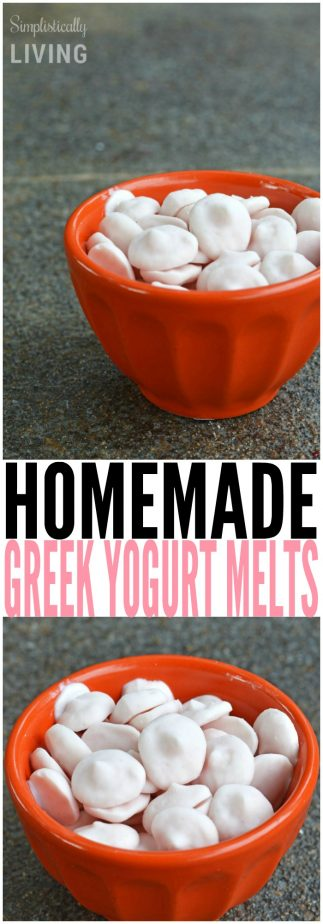 HOMEMADE GREEK YOGURT MELTS