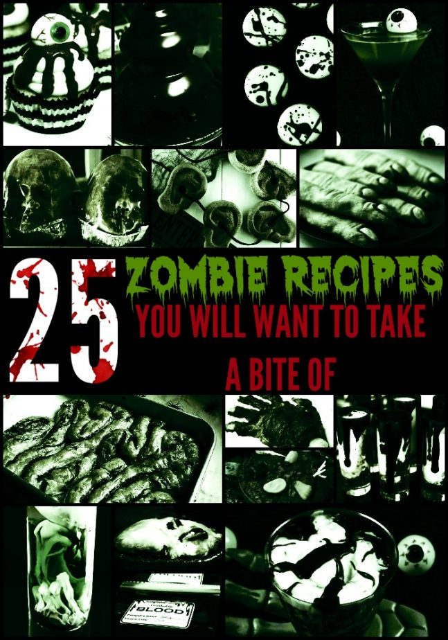zombie recipe ideas