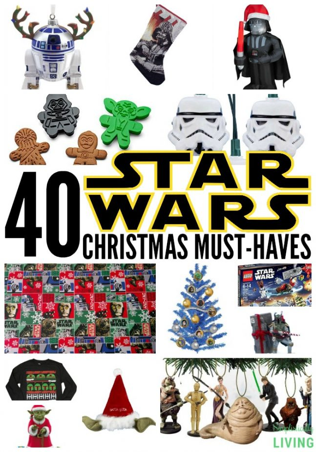 40 star wars christmas must haves