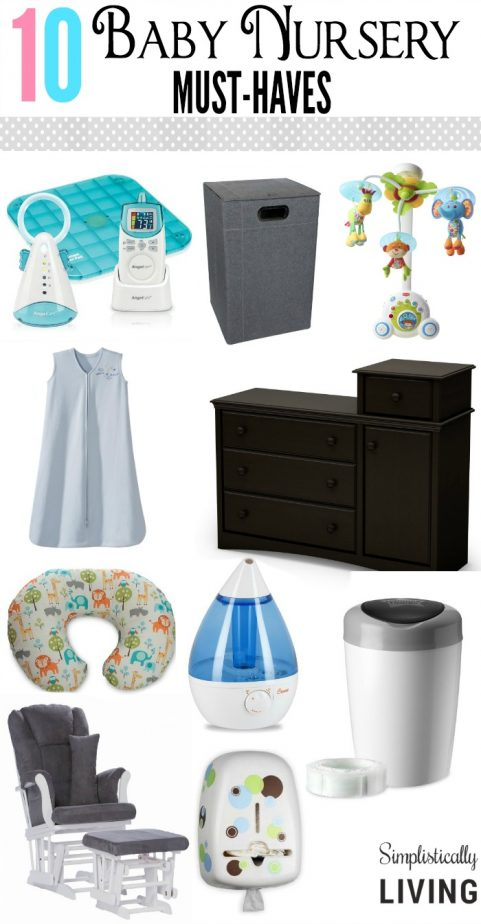 10 Baby Nursery Must Haves