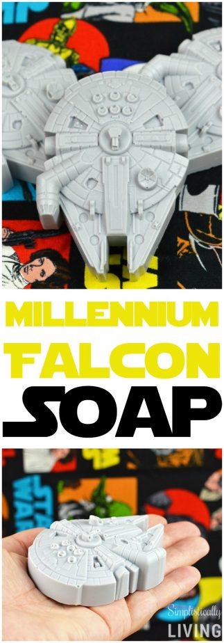 millennium falcon soap