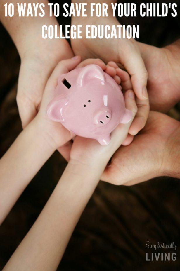 ways to save for child's college education