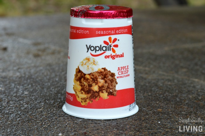 yoplait apple crisp yogurt