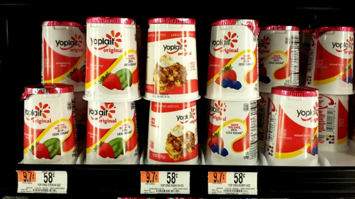 yoplait yogurt at walmart