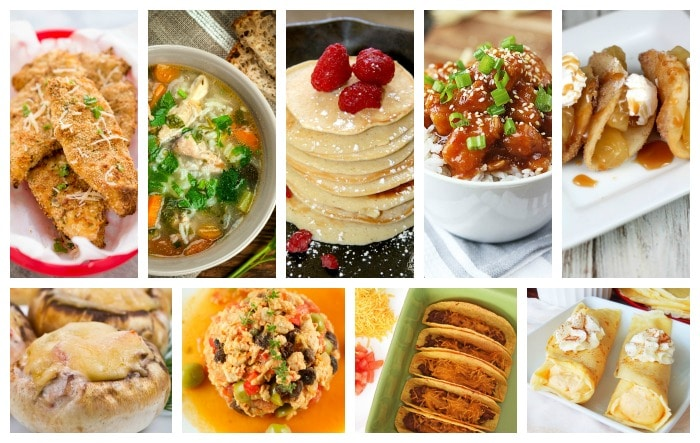 30 Meals Made in 30 Minutes or Less #30minutemeals #easymeals #quickmeals #easyrecipes #roundup