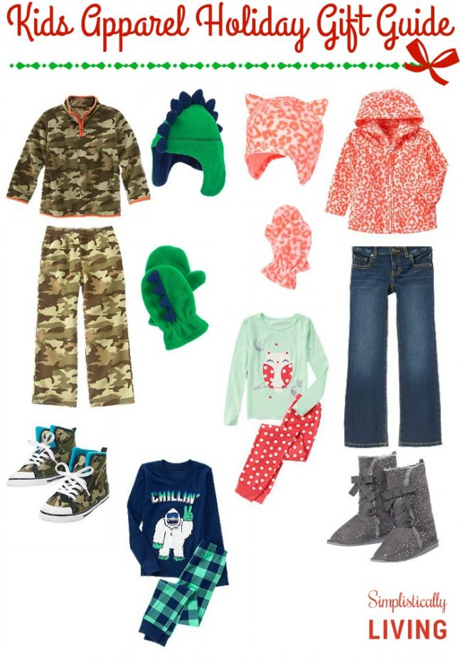 Kids Apparel Holiday Gift Guide