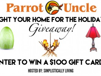 Parrot Uncle Light Your Home for The Holidays Giveaway!