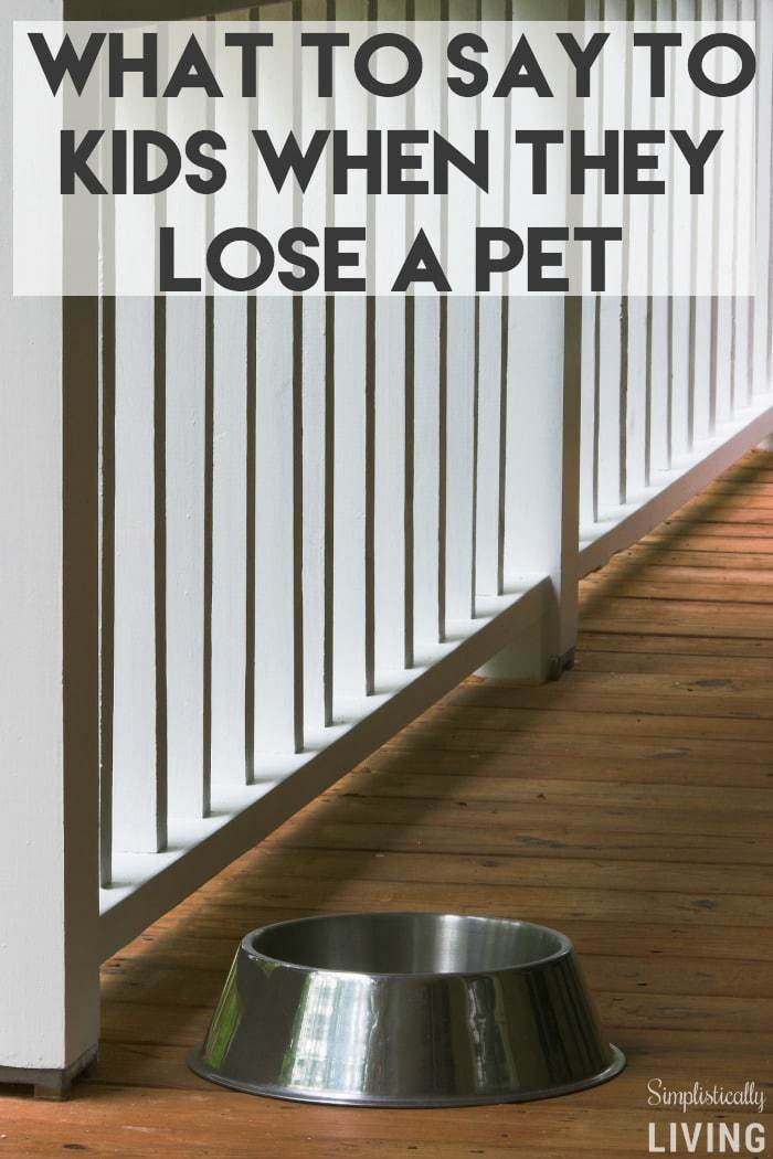 What to Say to Kids When They Lose a Pet